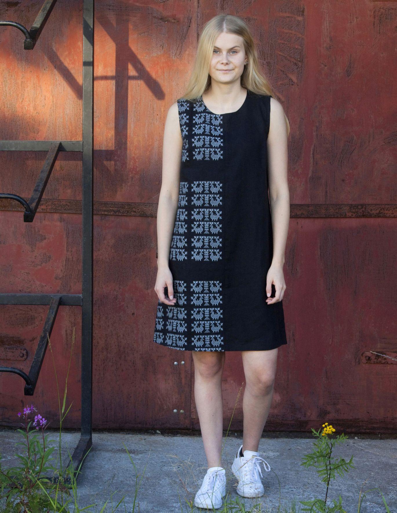 Koitadesign Sara -mekko pellavaa
